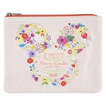 Disney Zip Pouch - 2018 Flower and Garden Festival - Minnie Mouse