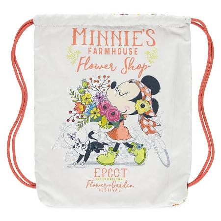 Disney Drawstring Cinch Sack Bag 2018 Flower And Garden Festival