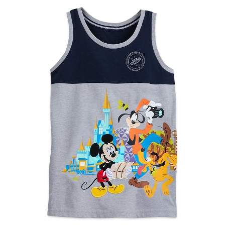 4c7ded92918ba Disney Tank Top for Boys - Mickey Mouse and Friends Passport