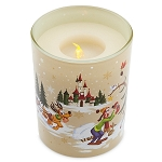 Disney Light Up Candle - Holiday Mickey Mouse and Friends