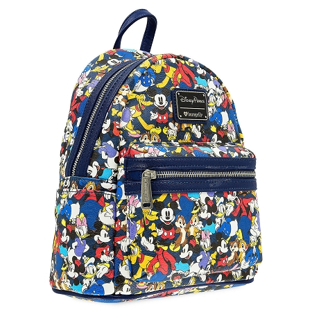 5905d255d82 Disney Loungefly Backpack - Mickey Mouse and Friends - Mini
