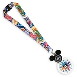 Disney Glow Lanyard - Mickey Mouse Passport - Walt Disney World