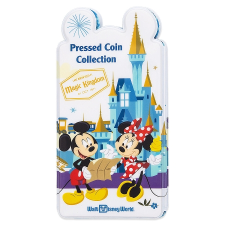 Disney Pressed Coin Holder - Mickey Mouse and Friends Passport