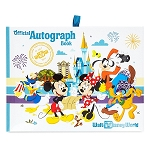 Disney Autograph Book - Mickey and Friends - Passport