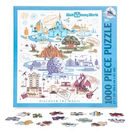 Disney Jigsaw Puzzle - Walt Disney World Resort Map