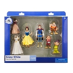 Disney Figure Set - Snow White Dress Up - Snow White and Dwarfs