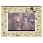 Disney Photo Frame Magnet - Mickey Mouse Signatures