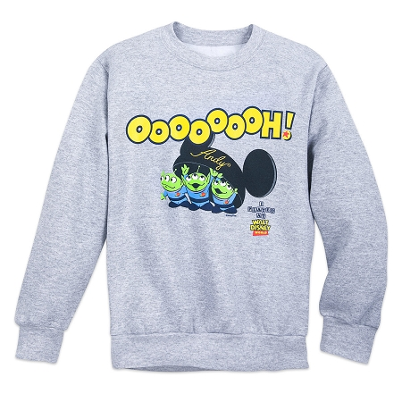 3-4 anni Hide /& Seek Disney Pixar Toy Story ALIENO sweashirt-Grigio