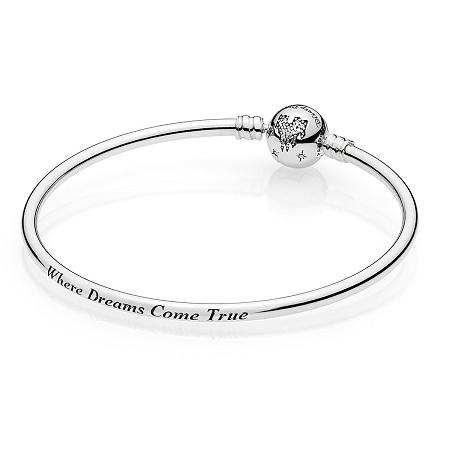 20126df4b Disney Pandora Bracelet - Fantasyland Castle - Dreams Come True