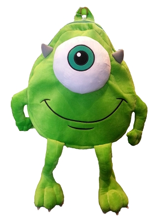 Disney Backpack Bag - Monsters INC - Mike Wazowski