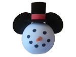 Disney Antenna Topper - Christmas - Snowman with Top Hat