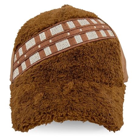 Disney Hat - Baseball Cap - Chewbacca Fuzzy - The Last Jedi c34a9f75972b