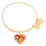 Disney Alex and Ani Bracelet - Rapunzel and Flynn - Valentine's Day