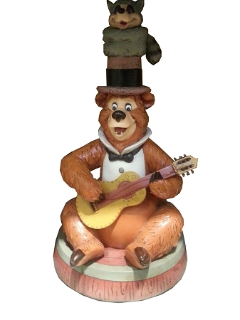 Disney Medium Figure Statue - Country Bear Jamboree - Henry and Sammy