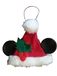 Disney Christmas Ornament - Mickey Mouse Santa Hat - Small