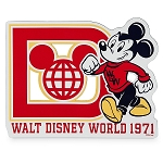Disney Auto Car Magnet - Mickey Mouse - Walt Disney World 1971