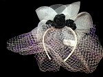 Disney Headband Hat - The Haunted Mansion - Bride