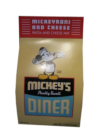 Disney Mickey's Really Swell Diner Pasta - Mickeyroni and Cheese Pasta