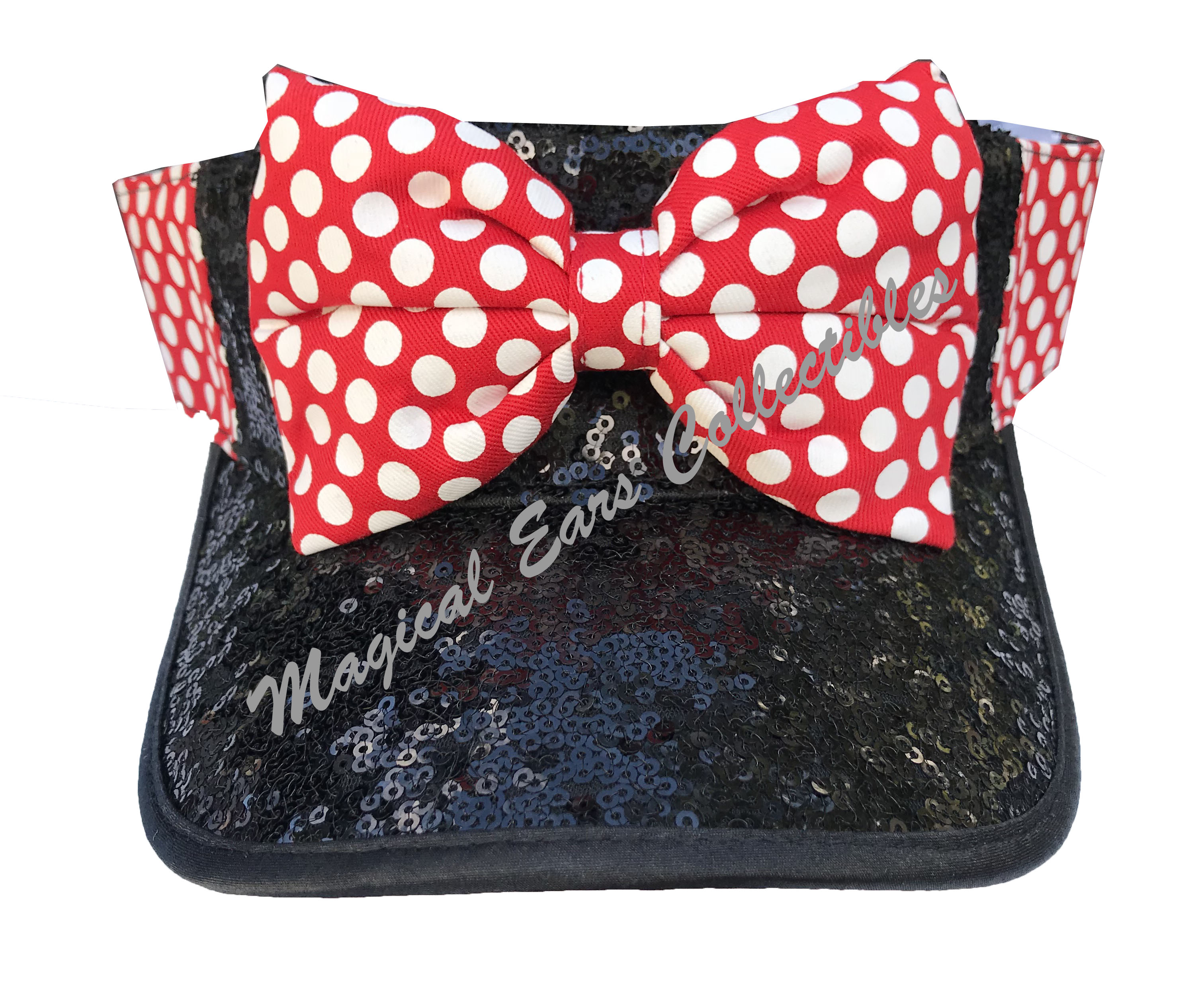 Add to My Lists. Disney Sun Visor Hat - Minnie Mouse Sequined c632eecc96cc