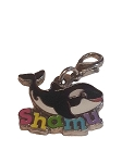 Sea World Dangle Charm - Shamu with Name