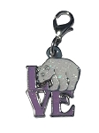 Sea World Dangle Charm - LOVE Polar Bear Icon