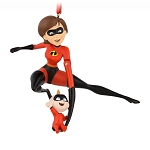 Disney Christmas Figural Ornament - Mrs. Incredible and Jack-Jack