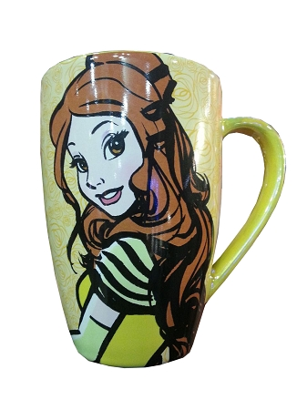 Disney Coffee Mug - Princess Belle - Mornings are a Beast