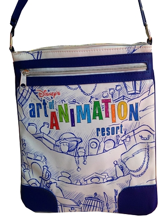 Disney Crossbody Bag - Art of Animation Resort - Ariel