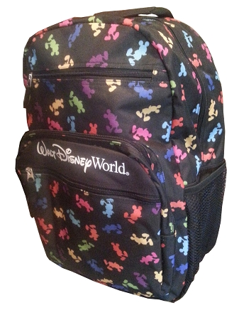 Disney Backpack Bag Colorful Mickey Mouse Prints