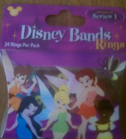 Disney Character Bands - Princess Fairy Rings - Series 1