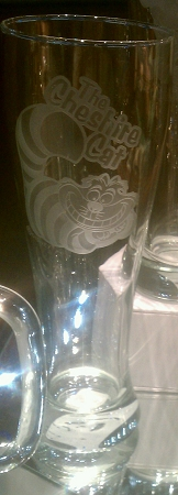 Disney Pilsner Glass - Alice in Wonderland - Cheshire Cat by Arribas