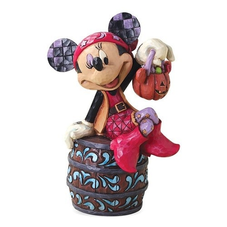 Disney Jim Shore Figurine - Boo-Caneers - Pirate Minnie