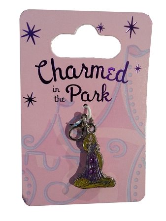 Disney Dangle Charm - Charmed in the Park - Rapunzel - Jeweled