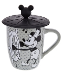 Disney Coffee Mug - Steamboat Willie with Lid