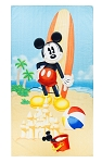 Disney Beach Towel - Mickey with Surfboard Beach