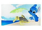Disney Beach Towel - Stitch and Sea Turtles