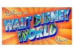 Disney Beach Towel - Walt Disney World Logo
