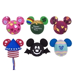 Disney Antenna Topper Set - Mickey Holiday Pack - Set of 6