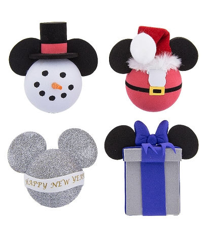 b8abef470dc07 Disney Antenna Topper Set - Mickey Holiday Pack - Set of 4