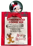 Disney Cookie Mix - Gingerbread Cookie Mix with Cookie Cutter - Retro