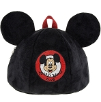 Disney Backpack Bag - Mickey Mouse Club Ear Hat - Plush