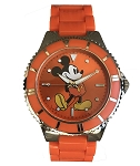 Disney Wrist Watch - Mickey Mouse Standing Expandable - Orange