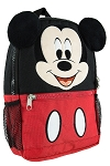 Disney Backpack Bag - Mickey Mouse Face with Plush Ears