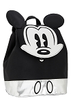 Disney Backpack Bag - Mickey Mouse Mini - Silver and Black