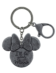 Disney Keychain - Minnie Mouse - I'll Be Your Minnie
