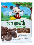 Disney Pure Growth - Organic - Mickey Animal Crackers - Chocolate