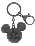 Disney Keychain - Mickey Mouse - I'll Be Your Mickey