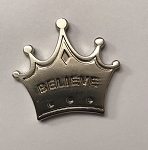 Disney Pocket Token - Piece of Magic - Princess Crown - Believe