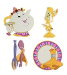 Disney Magnet Set - Beauty and the Beast - Set of 4