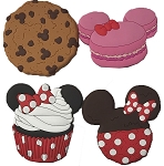 Disney Magnet Set - Minnie Mouse Treats - Set of 4